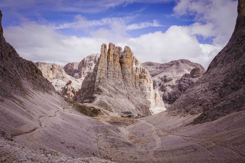 Vajolet Towers, Rosengarten Dolomites Hut to Hut Hike