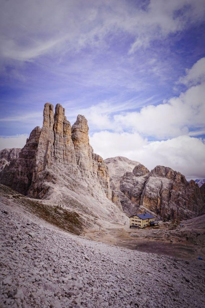 Vajolet Towers, Rosengarten Dolomites