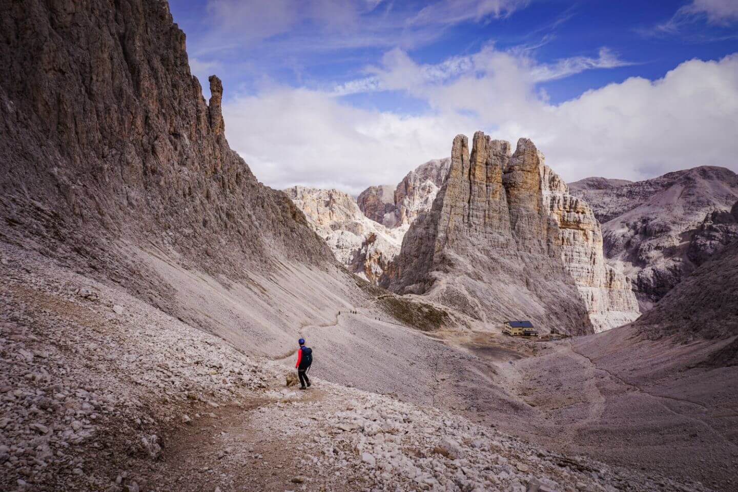 3 Day Catinaccio Rosengarten Dolomites Trek Moon Honey Travel