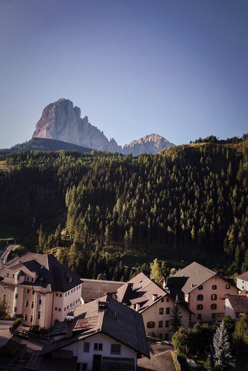 Dorfhotel Beludei, Santa Cristina, Val Gardena, Dolomites in September