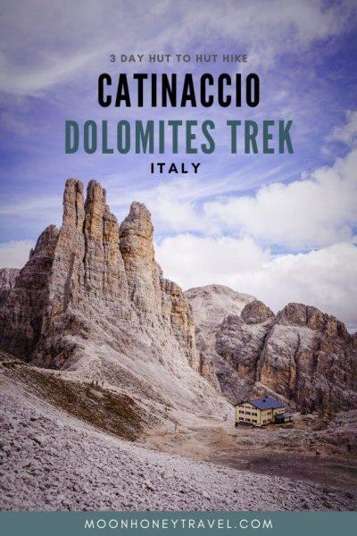 Catinaccio Rosengarten Dolomites 3 Day Trek