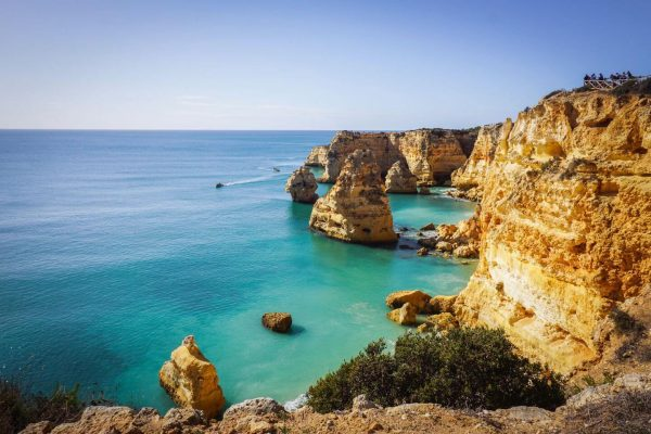 Praia da Marinha, Seven Hanging Valleys Trail, Algarve, Portugal