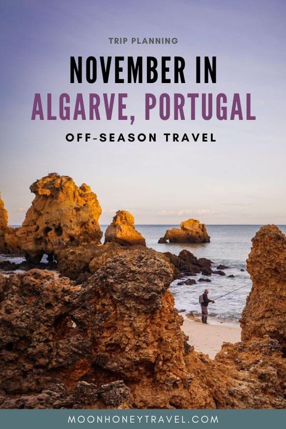 November in Algarve, Portugal Off-season
