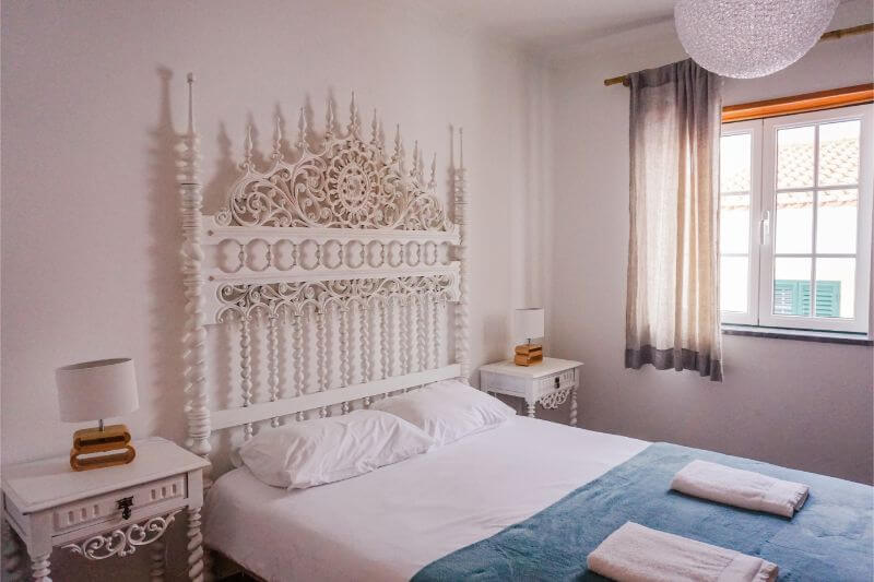 Bedroom in Almograve Beach Hostel, Fisherman's Trail, Portugal