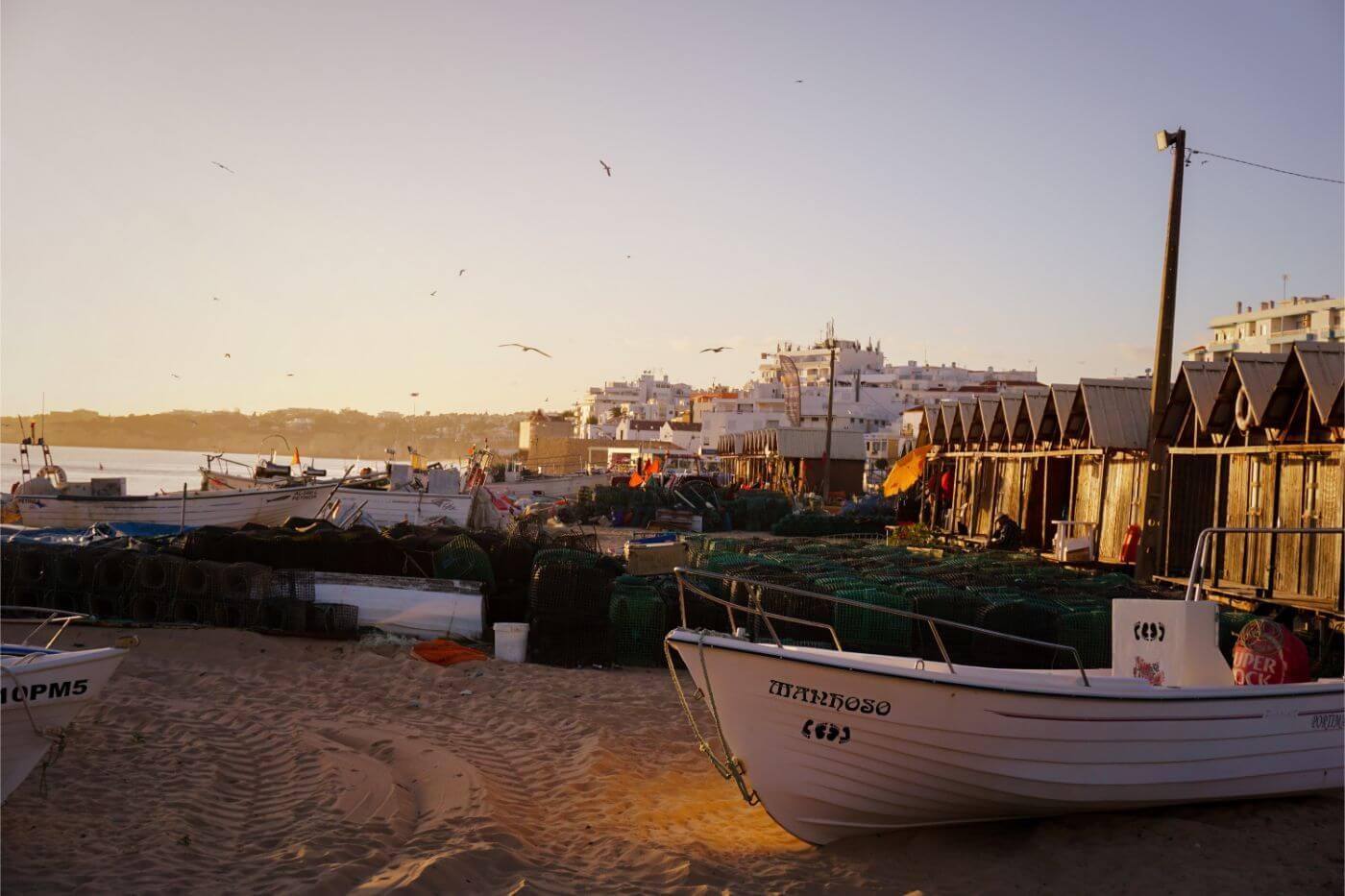 Armação de Pêra, Algarve Road Trip Itinerary