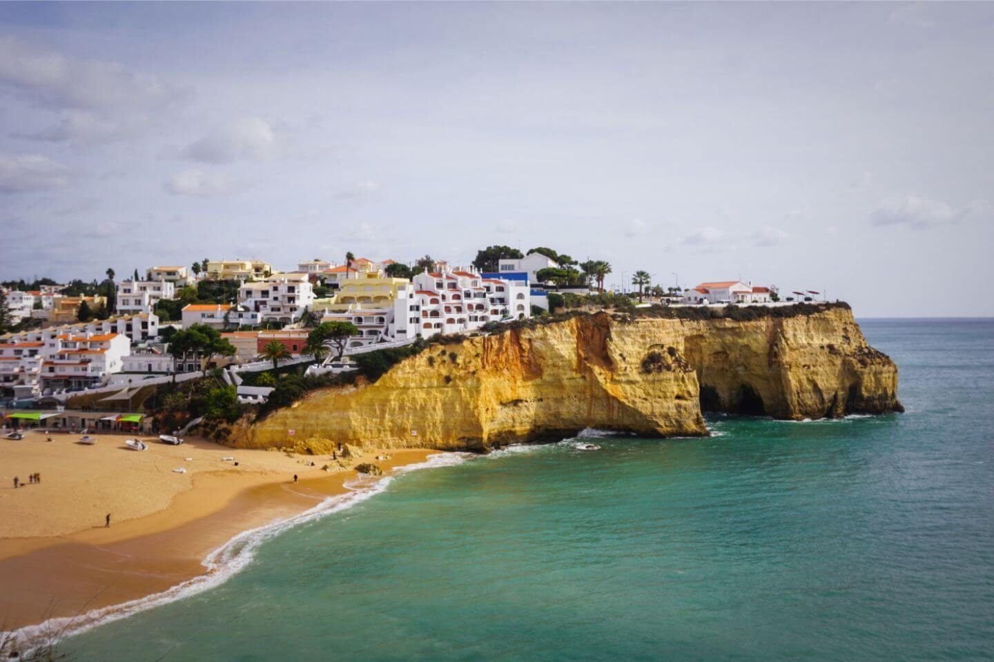Carvoeiro, Algarve in November - Best Town to Stay