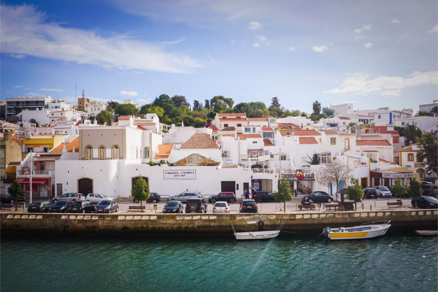 Ferragudo, Algarve, Portugal - where to stay in Algarve in November