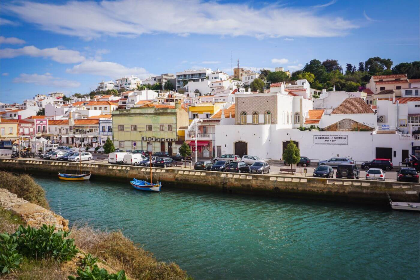 Ferragudo, Day 1 Algarve Road Trip Itinerary, Portugal