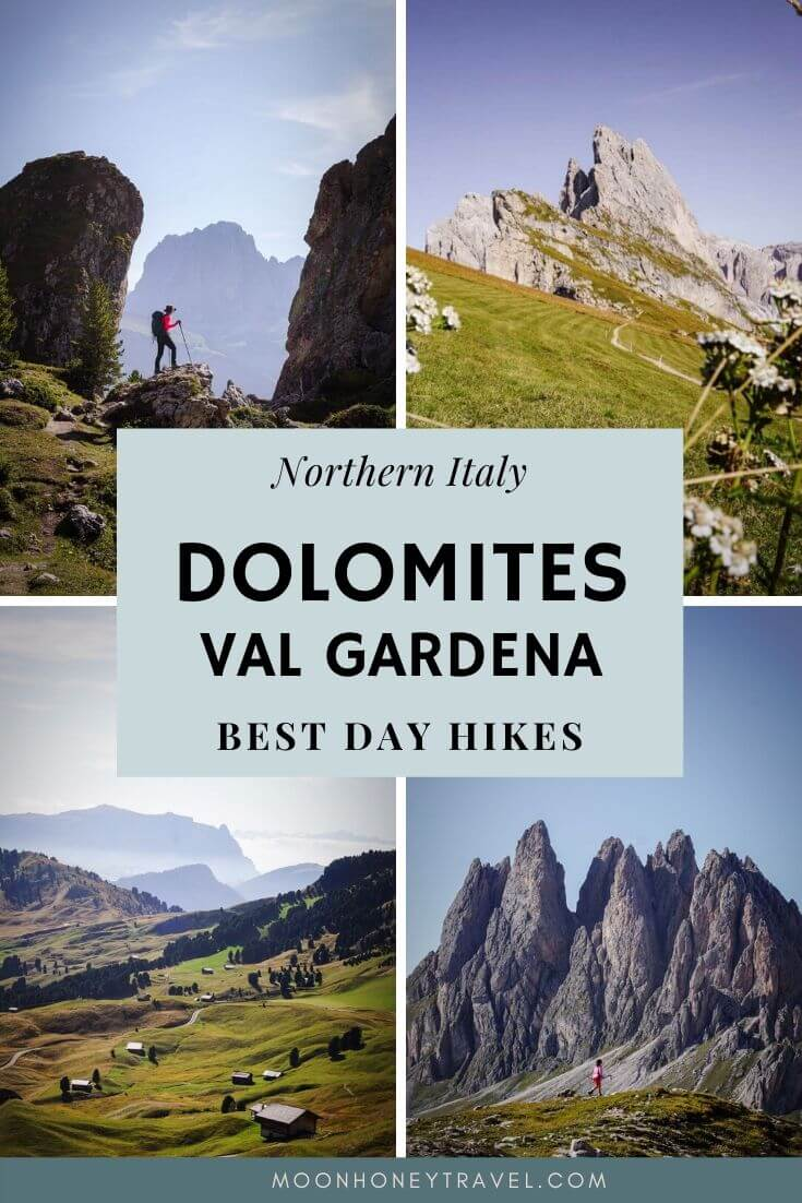 Best Val Gardena Hiking Trails, Dolomites, italy