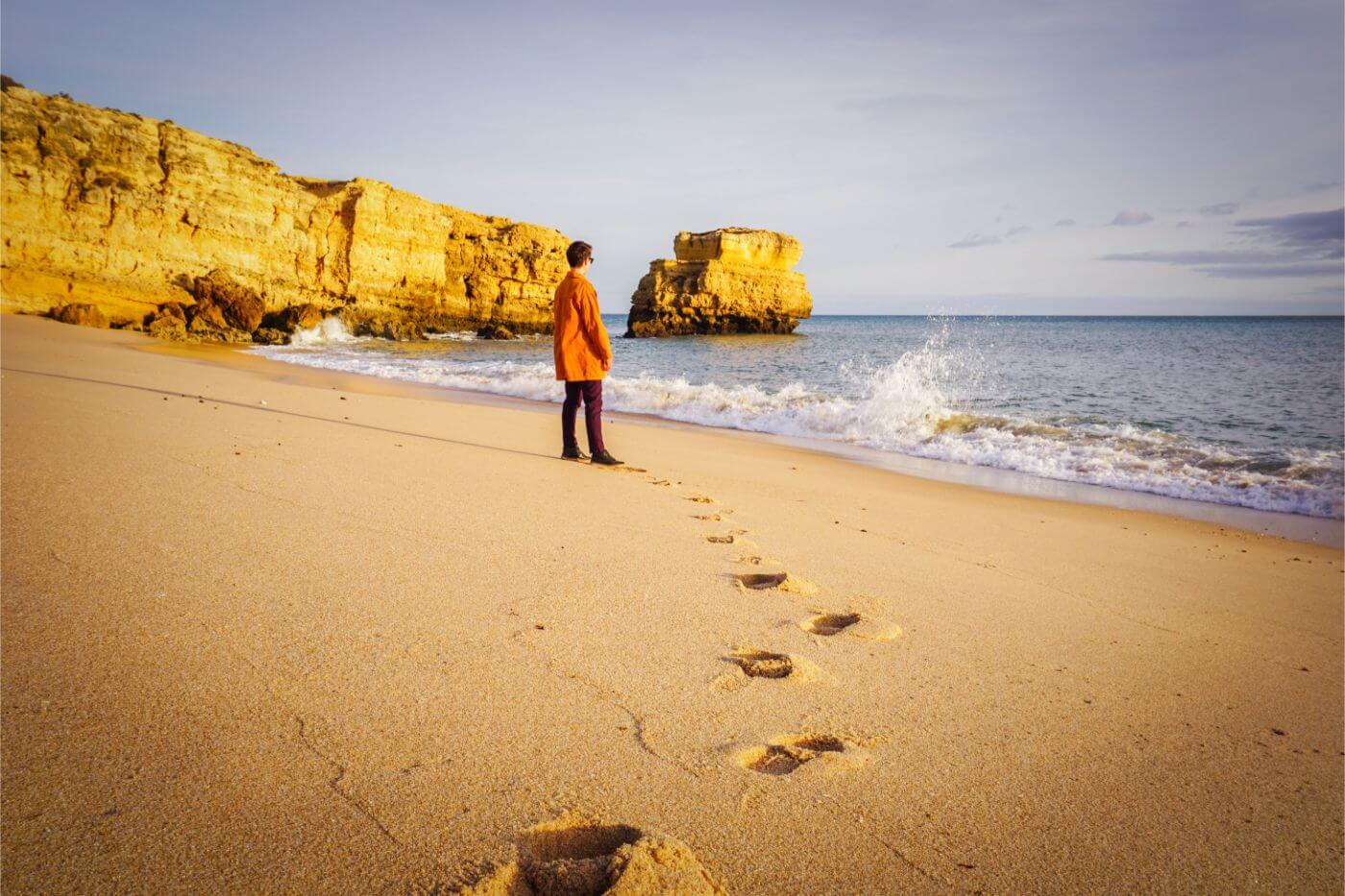 Praia de São Rafael - 7 days in Algarve, Portugal - road trip