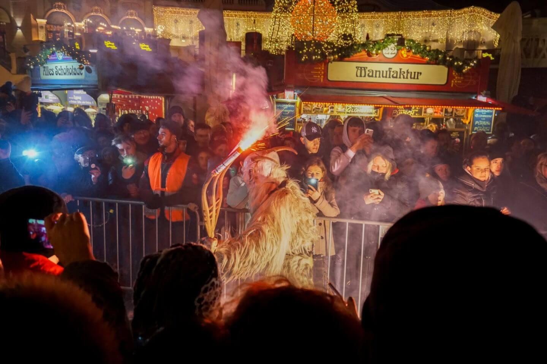 Perchtenlauf, Vienna, Austria - December