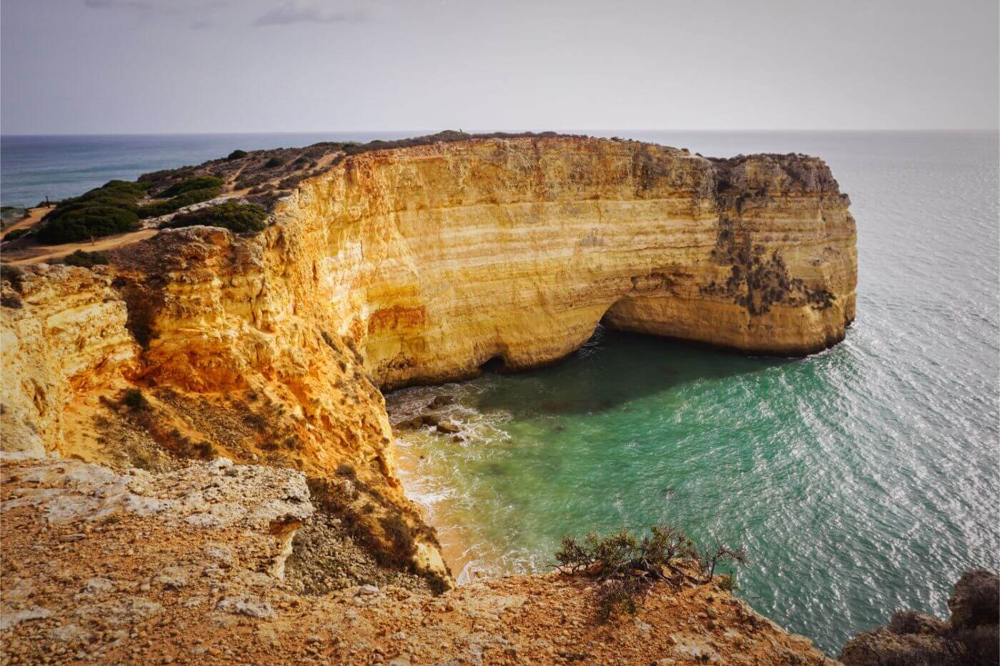 Trail of Headlands - Algarve in November, Portugal