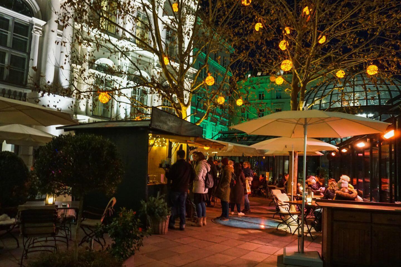 Palais Coburg Christmas Garden - Vienna in December