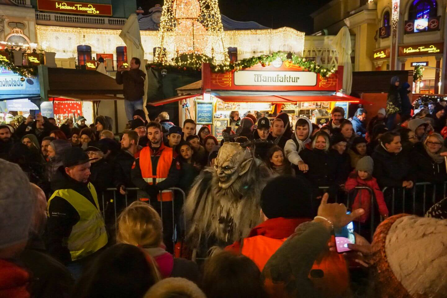 Perchtenlauf at Prater, Best Things to do in Vienna in December