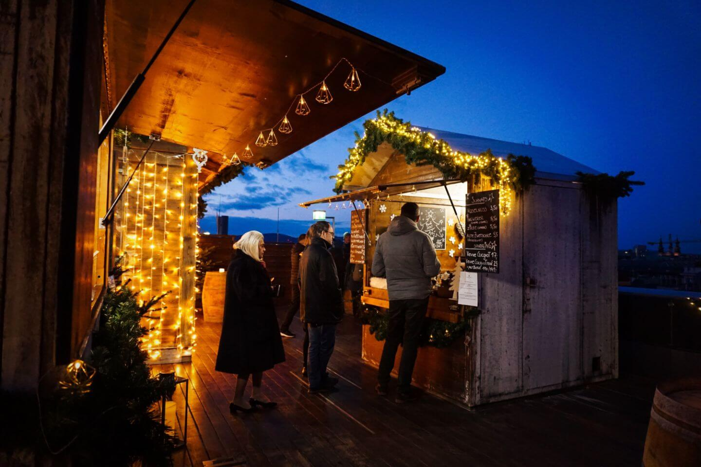 Ritz-Carlton Rooftop Christmas Market - Top things to do in Vienna in December, Winter Travel