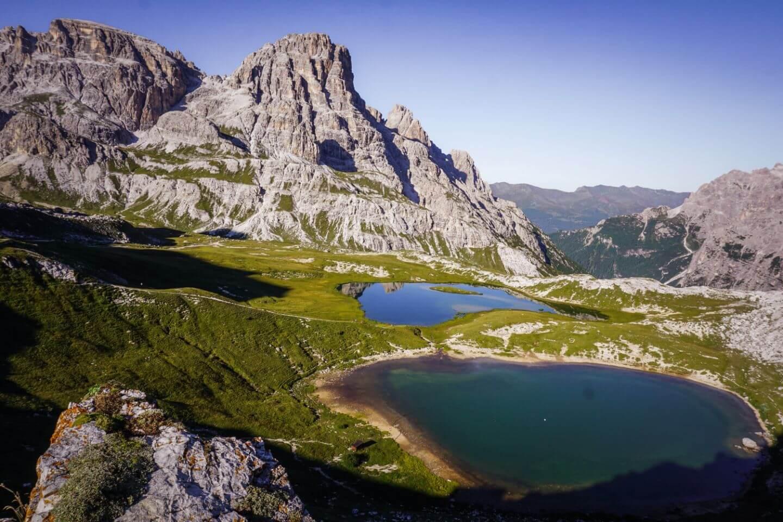 Laghi dei Piani, Tre Cime di Lavaredo Hut to Hut Hike