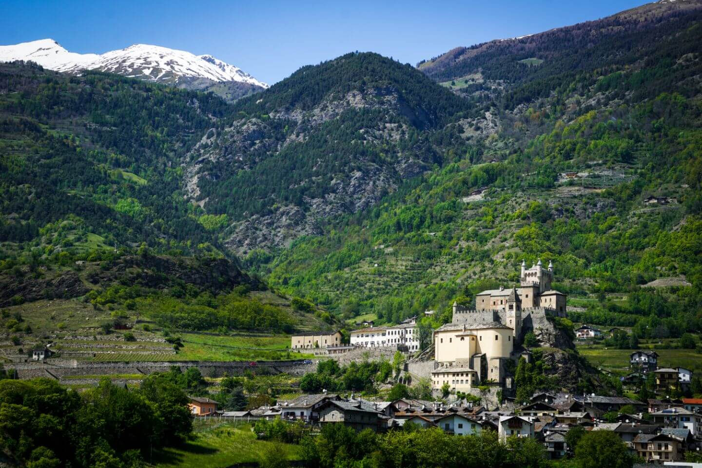 Saint Pierre Castle, Aosta Valley, Italy