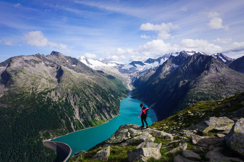 Hiking in the Zillertal Alps - Olpererhütte