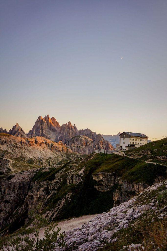 Rifugio Auronzo, Cadini di Misurina, Sexten Dolomites, Italy