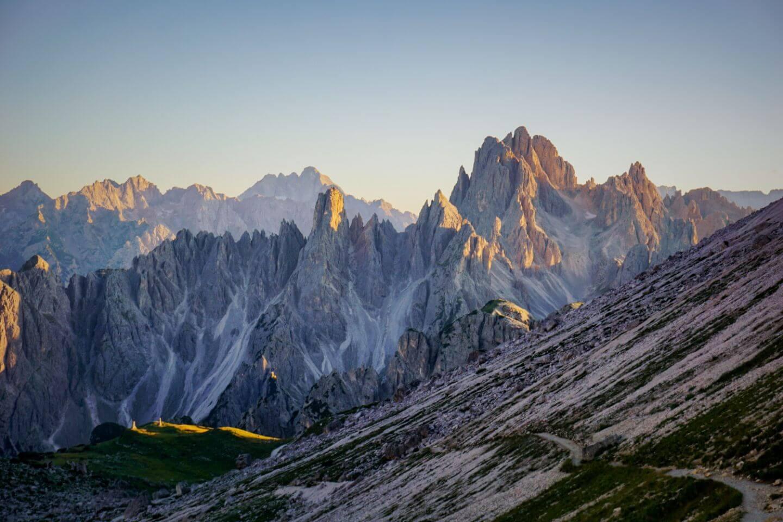 Cadini di Misurina Mountains, Tre Cime Di Lavaredo Trail, Dolomites