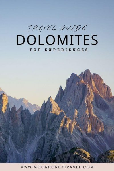 Dolomites Travel Guide - Top Experiences
