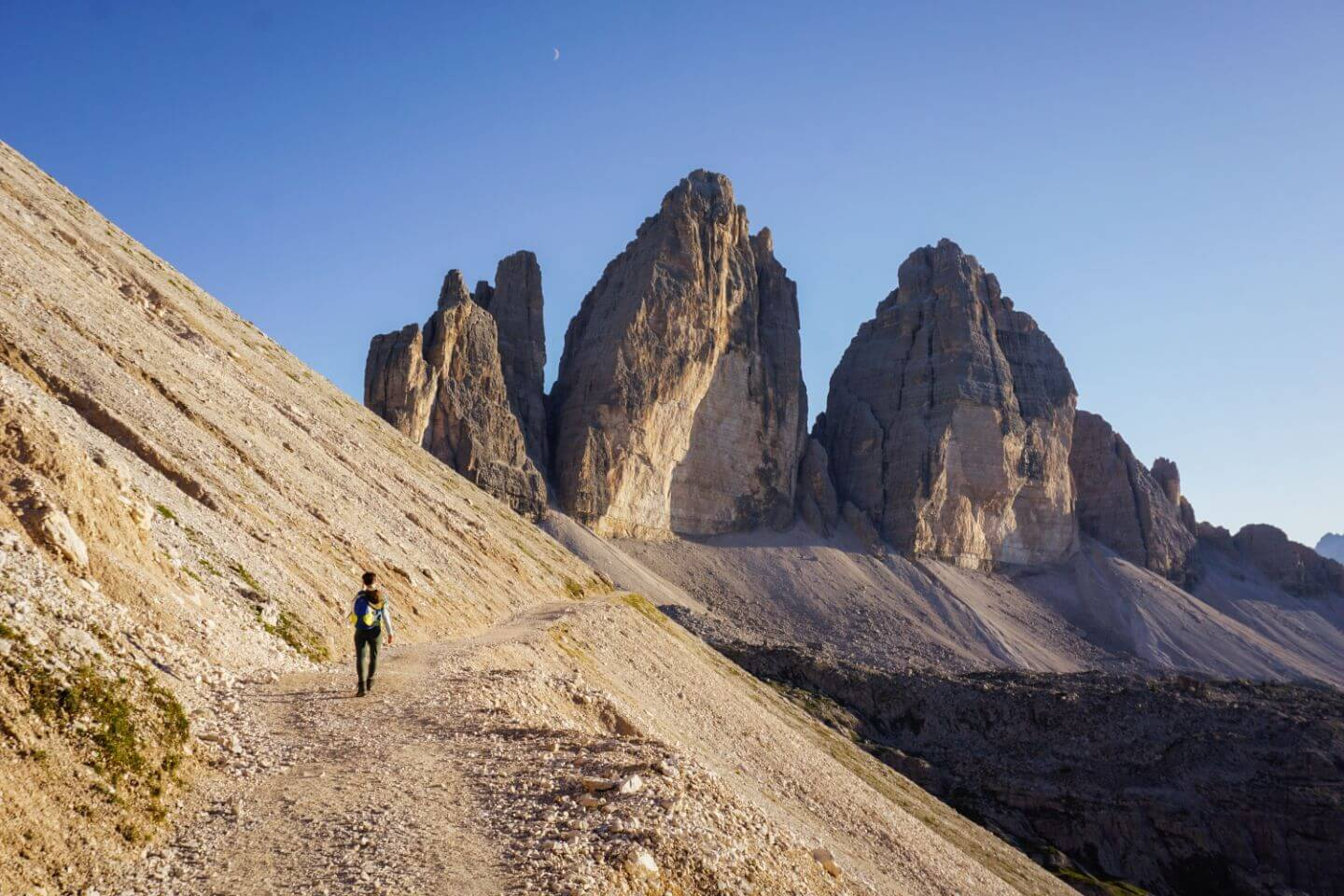 Tre Cime di Lavaredo Circuit Trail, Dolomites - Hiking in Europe
