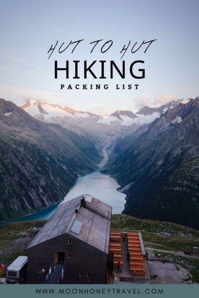 Complete Hut to Hut Hiking Packing List