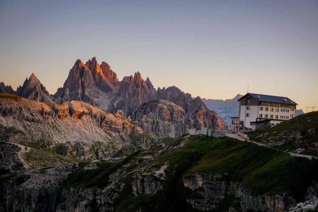 Rifugio Auronzo, Italian Dolomites, Italy - Tre Cime Hike
