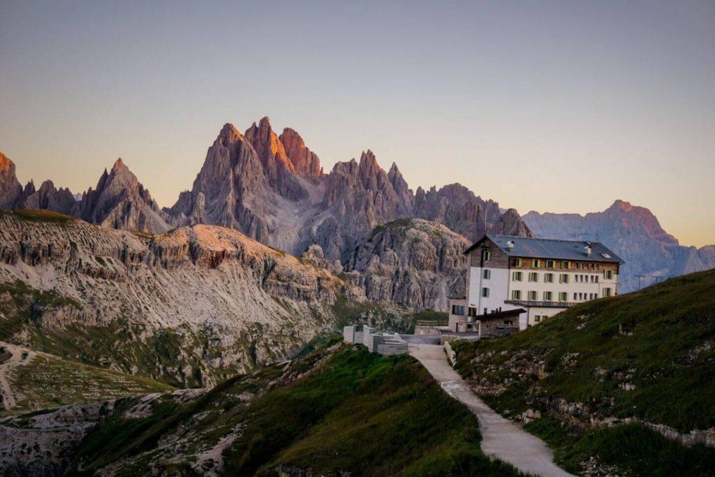 Rifugio Auronzo, Cadini di Misurina, Sesto Dolomites, Italy
