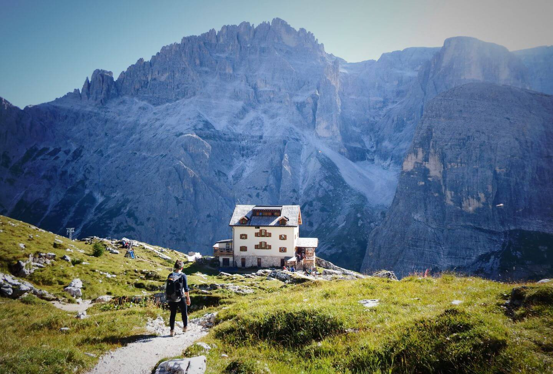 Zsigmondy Hütte, Tre Cime di Lavaredo, Dolomites