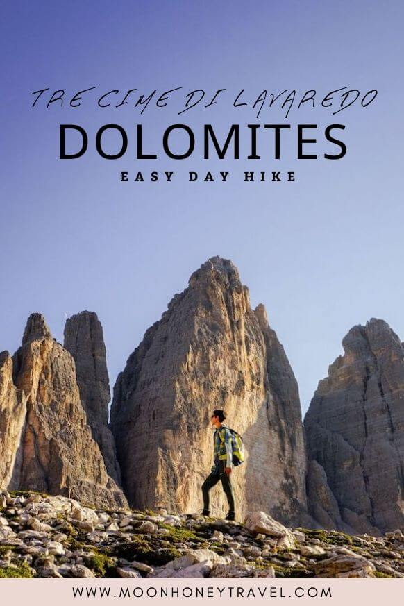 Tre Cime di Lavaredo (Drei Zinnen) Day Hike, Dolomites, Italy
