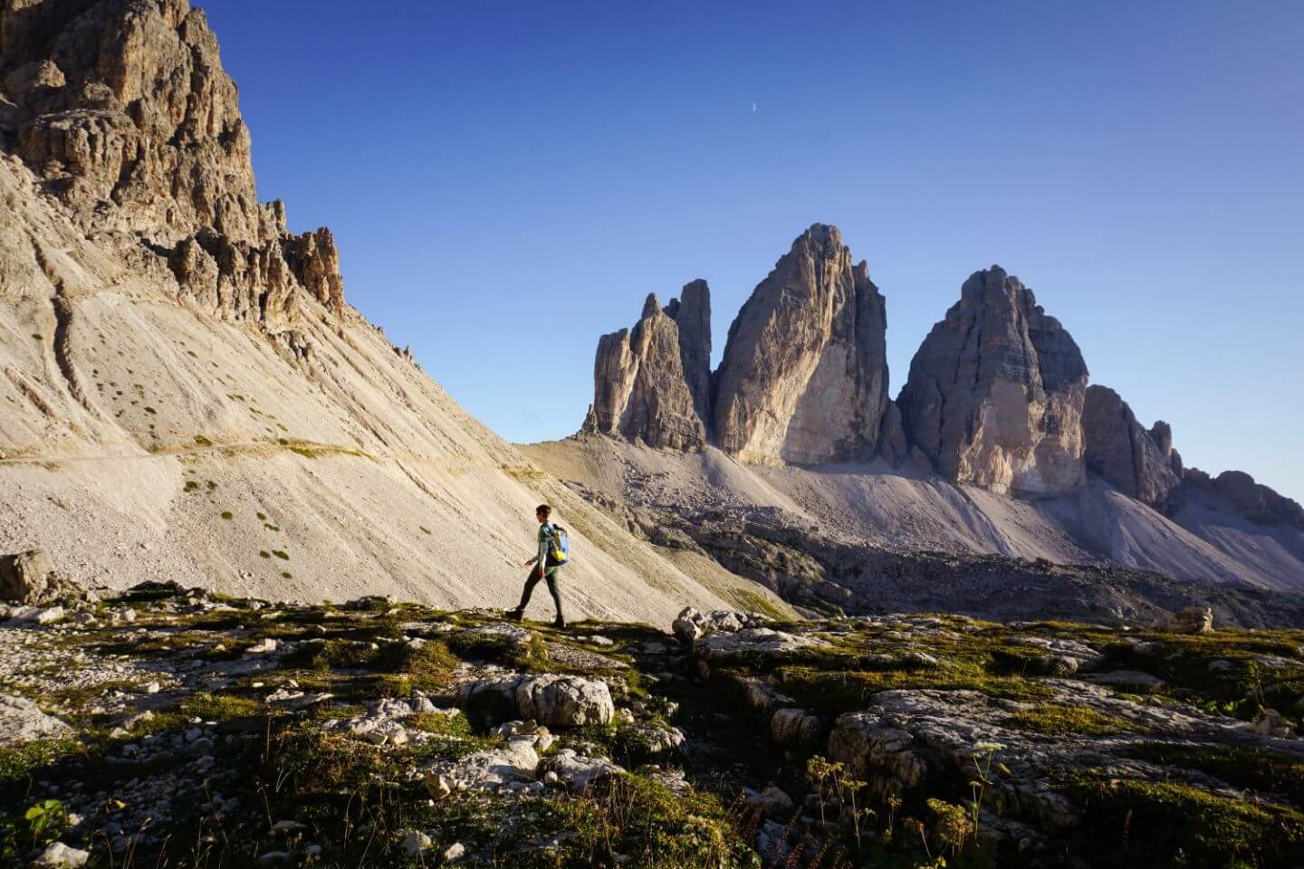 When to hike around Tre Cime di Lavaredo, Dolomites, Italy