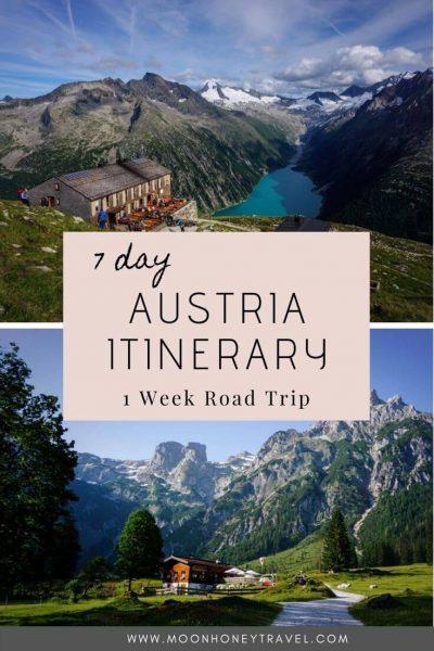 Austria Itinerary 1 Week