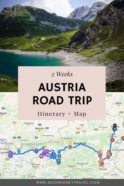 Austria Road Trip Itinerary