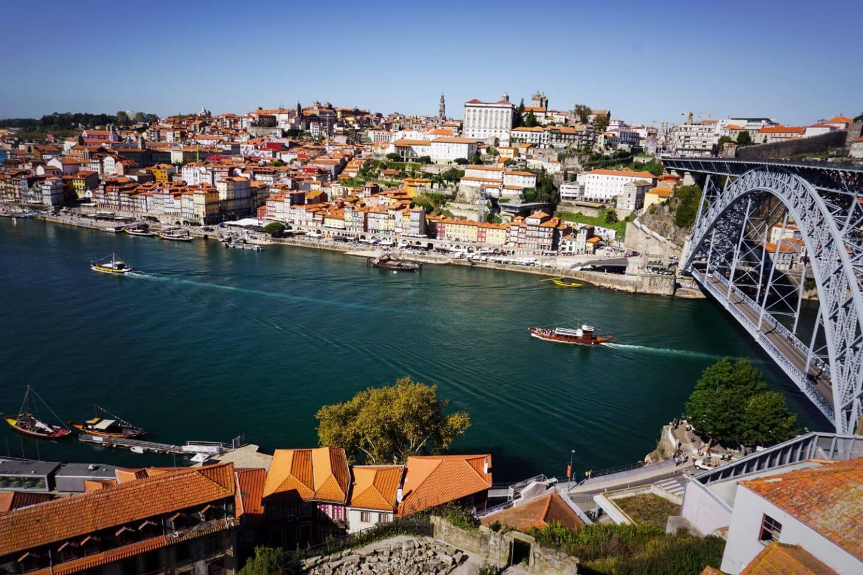 Dom Luís I Bridge, Porto, Portugal