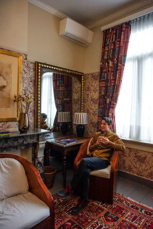 De Baron B&B Bedroom, Antwerp, Belgium