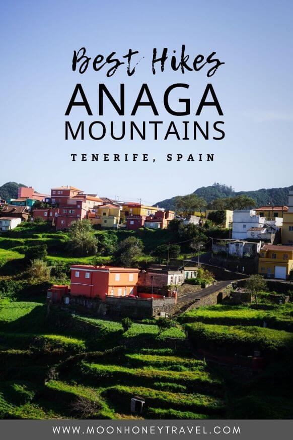 Anaga Mountains Hiking Trails, Tenerife, Spain