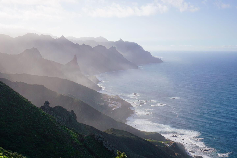 Cruz del Draguillo to Benijo, Anaga Mountains, Tenerife