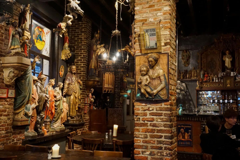 Het Elfde Gebod beer cafe in Antwerp, Belgium