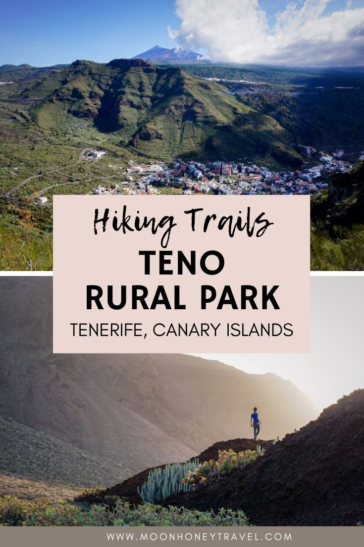 Hikes in Teno Rural Park, Tenerife