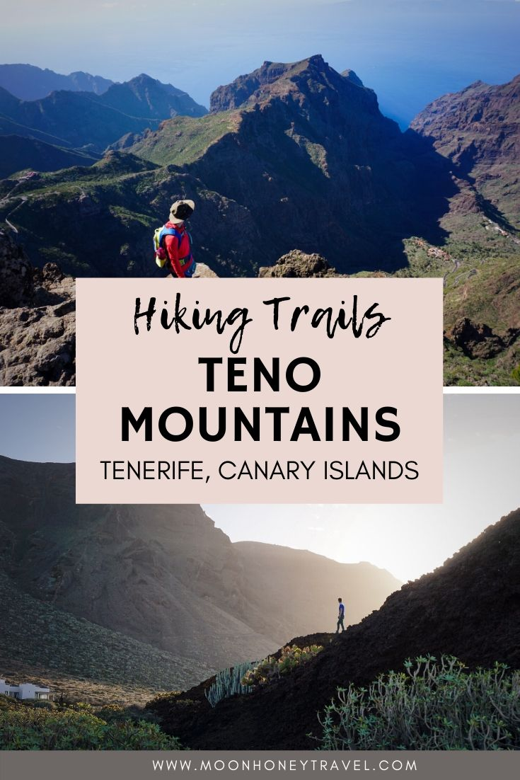 Hiking Trails in the Teno Mountains, Tenerife