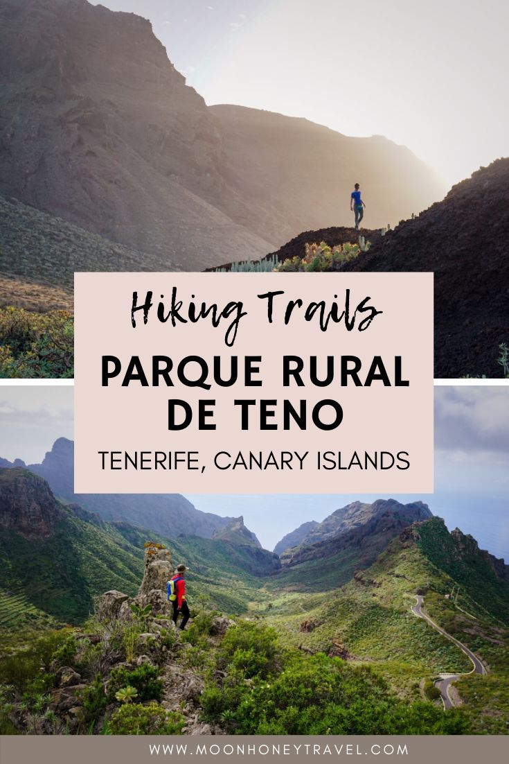 Hiking in Parque Rural de Teno, Tenerife