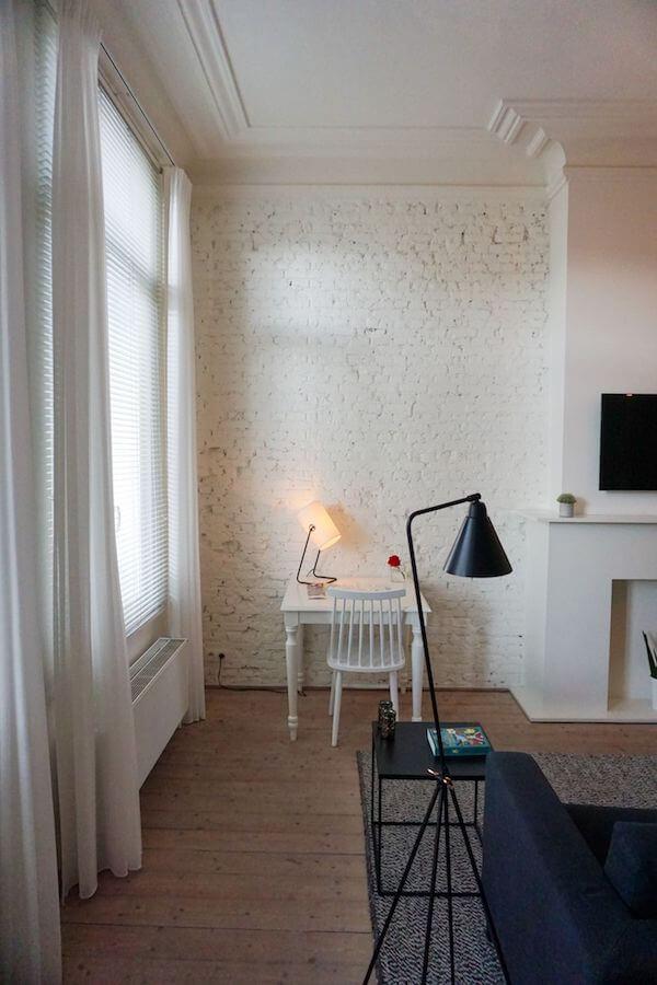 Living space, Maison Nationale City Flats & Suites, Antwerp, Belgium