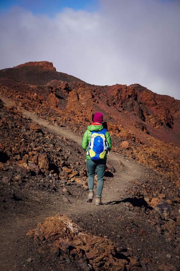 Montaña de la Botija Loop Trail, Teide National Park, Tenerife