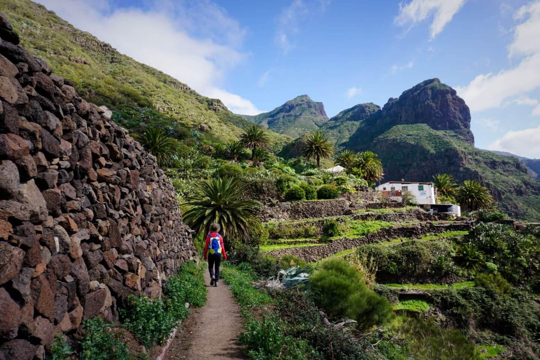Santiago del Teide to Masca - Tenerife Hiking Trails