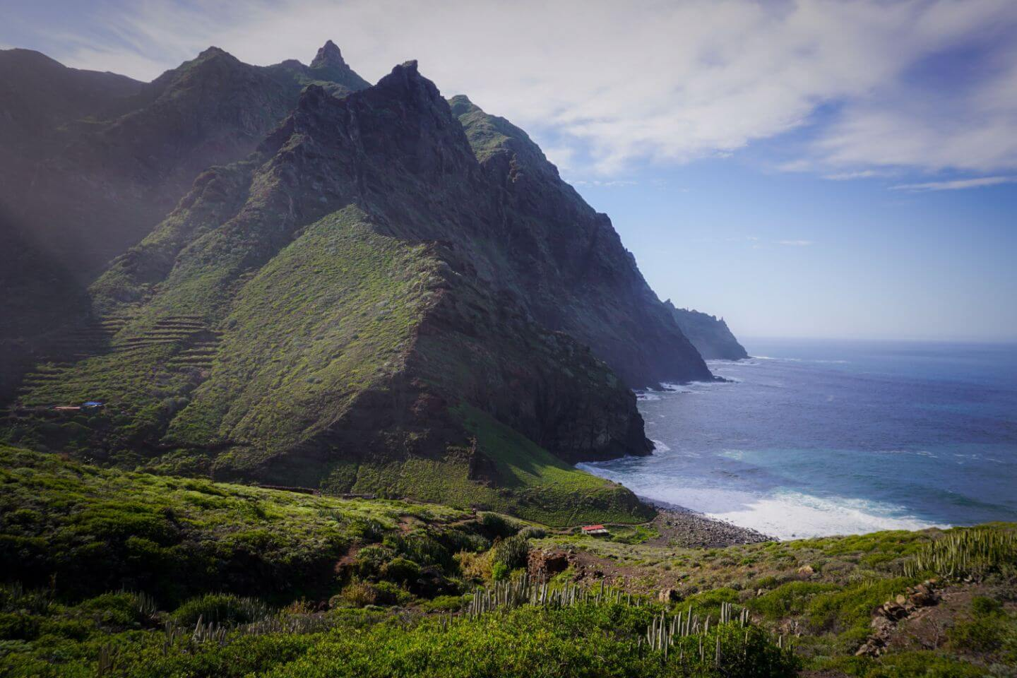Taganana to Playa de Tamadite, Best Hikes in the Anaga Mountains, Tenerife, Spain