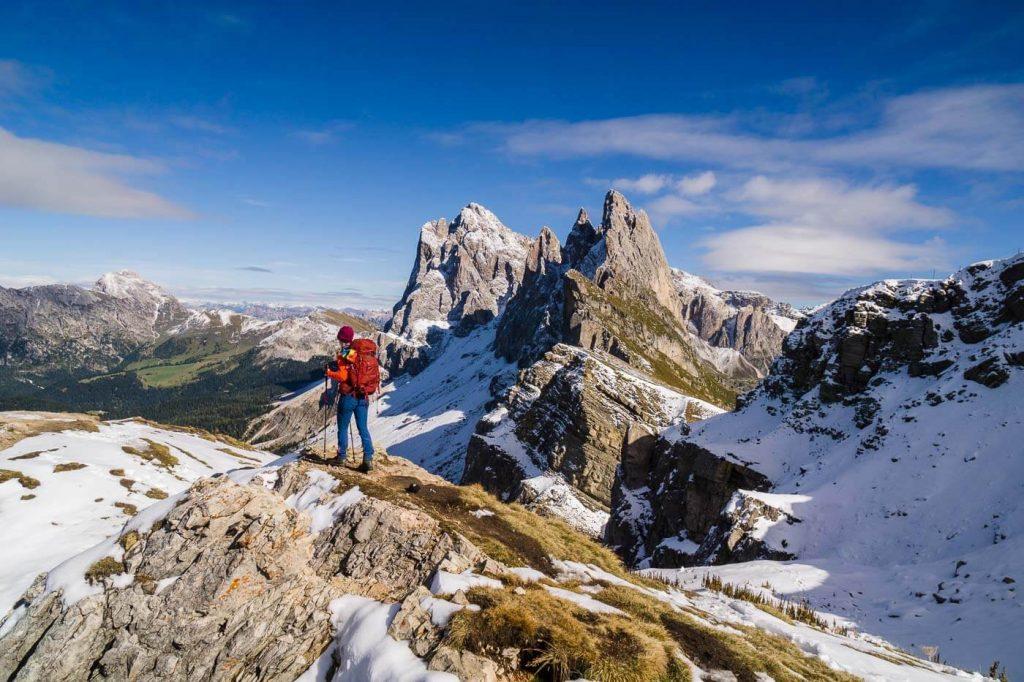 Seceda, Dolomites Hiking Trails