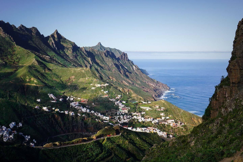 TF 134, Anaga Rural Park - Scenic Roads, Tenerife, Canary Islands, Spain