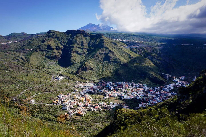 Tamaimo and Montaña de Guama Circuit Trail, Macizo de Teno Mountains, Tenerife