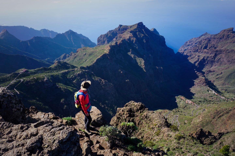 Santiago del Teide to Masca Walk, Parque Rural de Teno, Tenerife